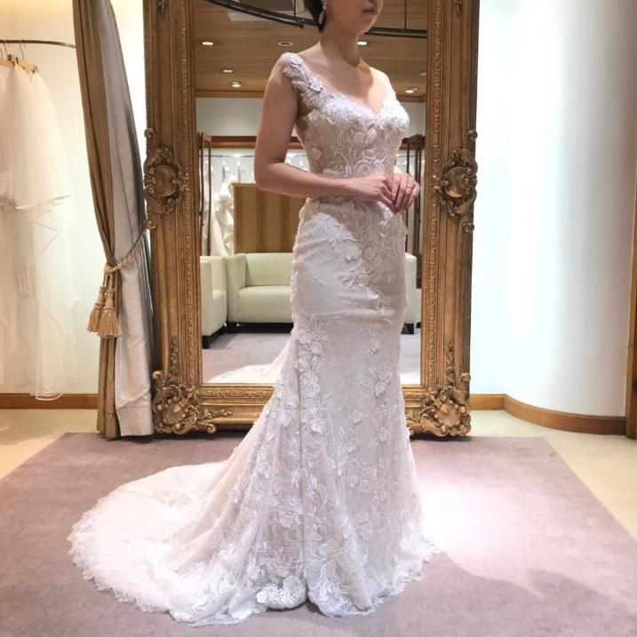 ラグジュアリーな2wayウェディングドレス Style Un